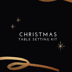Christmas Table Setting Kit 1